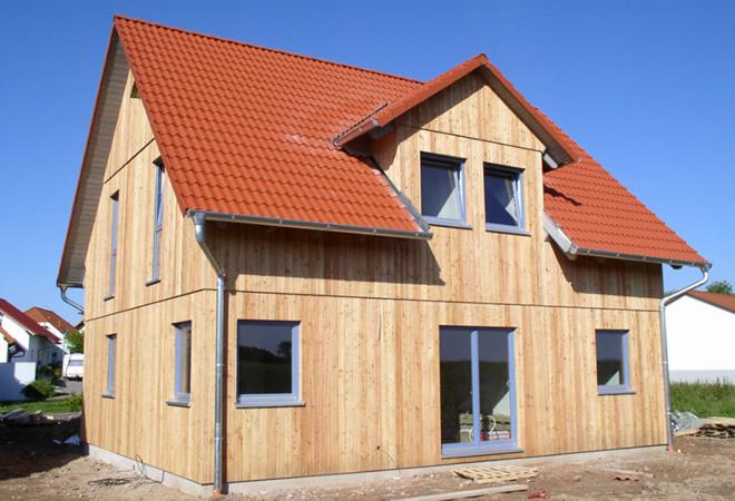 Familie Richter Erfahrung Holzhaus Hagemann Haustyp Santi