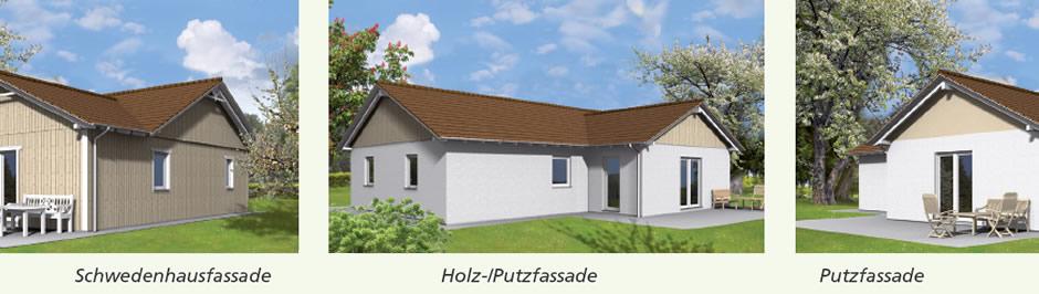 Haustyp Tuva - Wohnen auf einer Ebene Holzhaus für kleine Familie