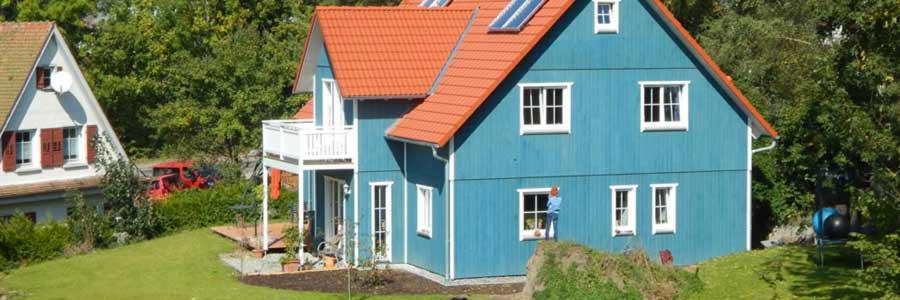 ökologisches Haus schwedenhaus ökologisch bauen